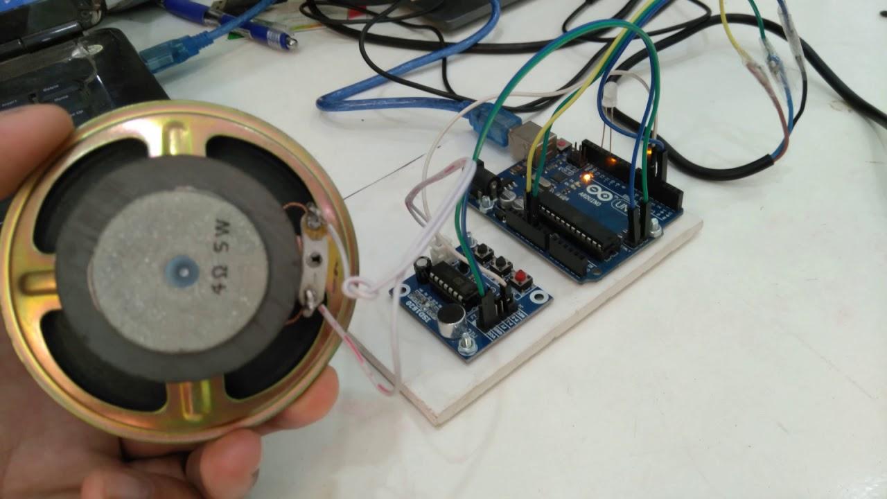 Lập trình vi điều khiển-Phần 254-Chế máy nhắc nhở dùng ISD1820 và cảm biến hồng ngoại