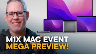 Apple October 2021 Event Preview — M1X MacBook Pro, Mac mini Pro... iMac Pro?