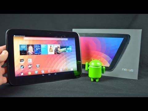 Google Nexus 10: Unboxing & Review (Android 4.2)