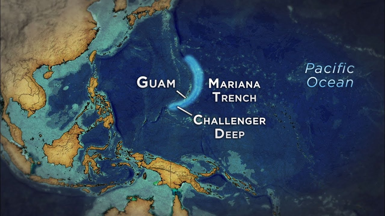 Mariana Trench | Most dangerous and Deepest place on the ...