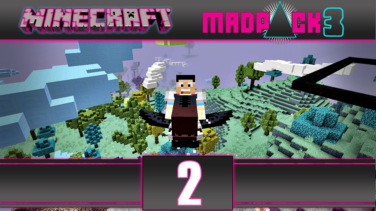 mine craft video minecraft madpack 3 gravitite броня и возило епизод 2463