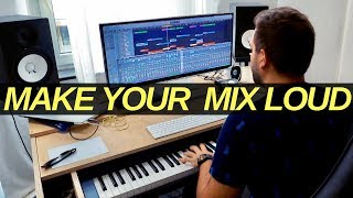 HOW TO GET YOUR TRACKS AS LOUD AS THE EDM PROS - technique of David Guetta, Martin Garrix, Kygo