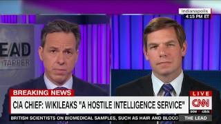 Rep. Swalwell on CNN discussing Wikileaks and Russia, Syria, and the