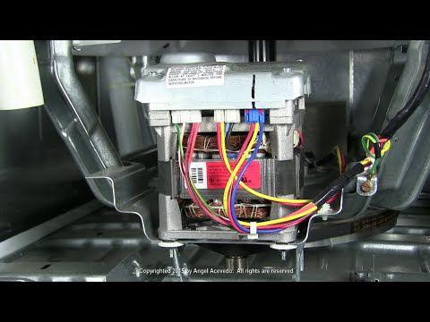 Motor error codes GE Hydrowave washers