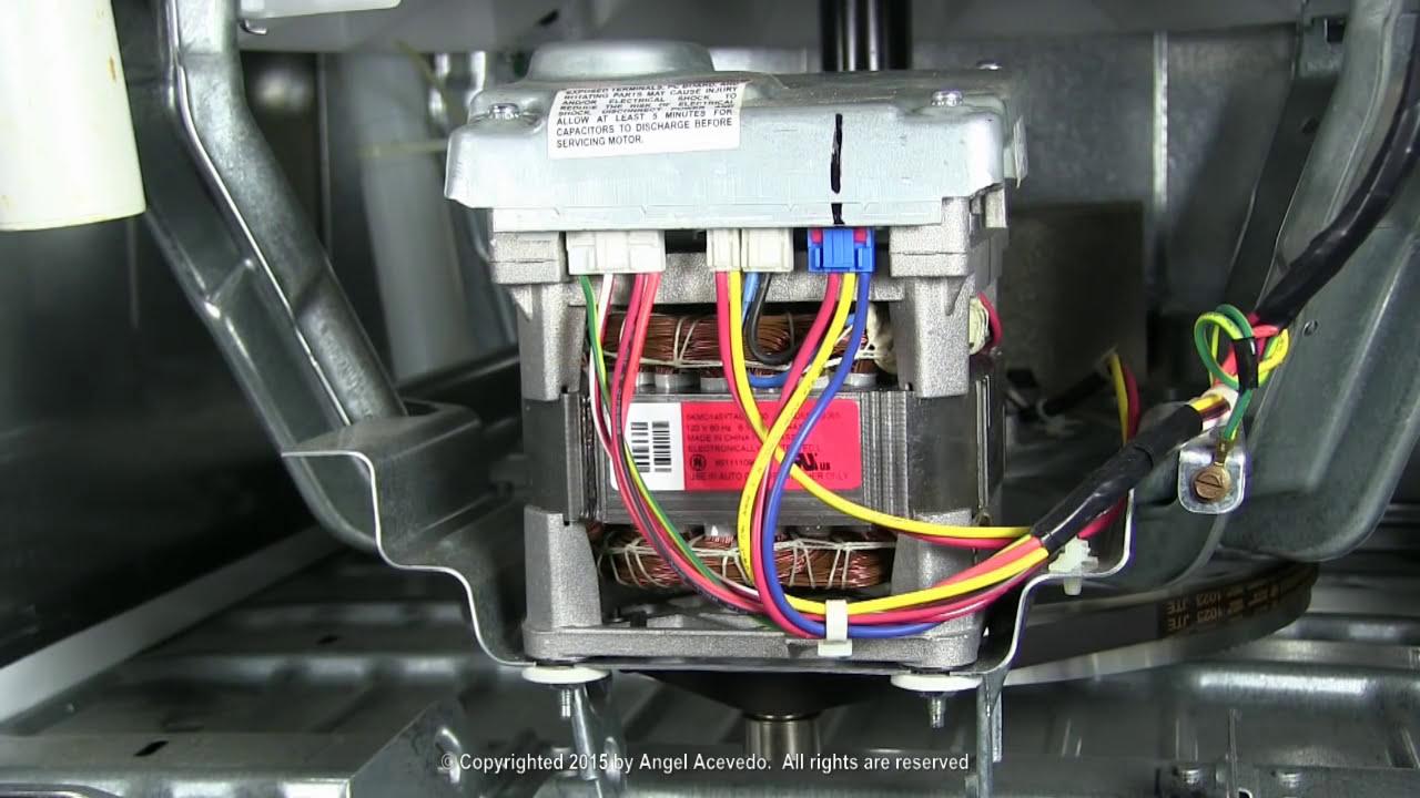ge washing machine motor wiring