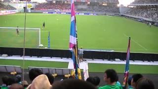 20130817 サガン鳥栖 ゴールキーパー入場~バモス