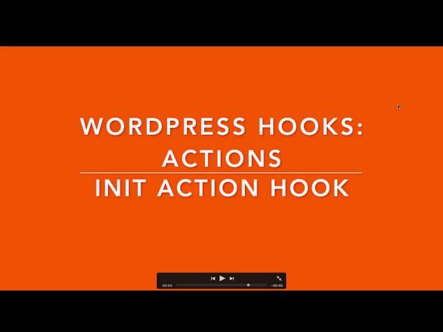 WordPress Hooks Actions - init hook Part- 6 Example