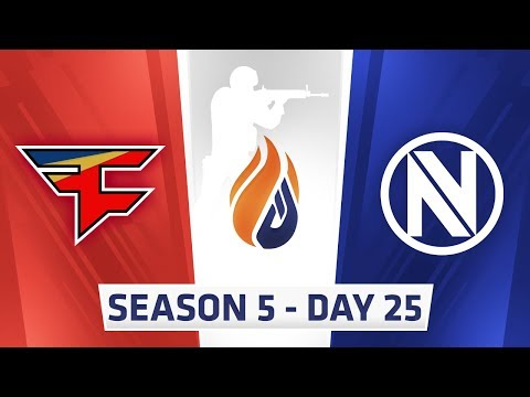 ECS Season 5  Day 25 - G2 vs NiP, Faze vs EnVyUs, G2 vs EnVyUs // Optic vs Renegades