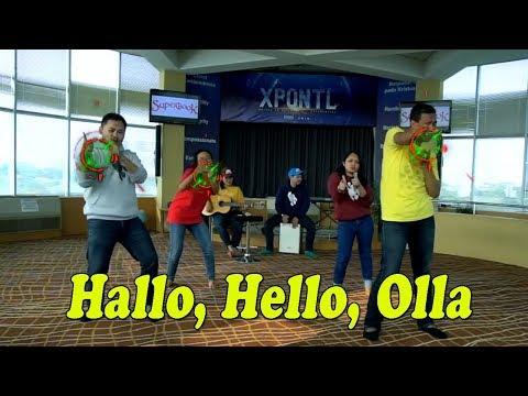 Lagu Sekolah Minggu - Hallo, Hello, Olla - Superbook Indonesia