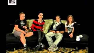 Tokio Hotel  Interview PART 2 -MTV TAIWAN 01/12/2010