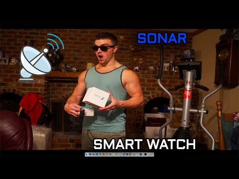 A Sonar Smart Watch For Blind People! Sunu Band Unboxing