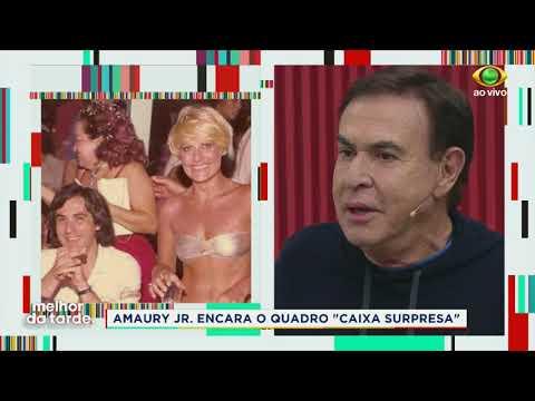 Devia Ter Pego, Brinca Amaury Sobre Ana Maria Braga