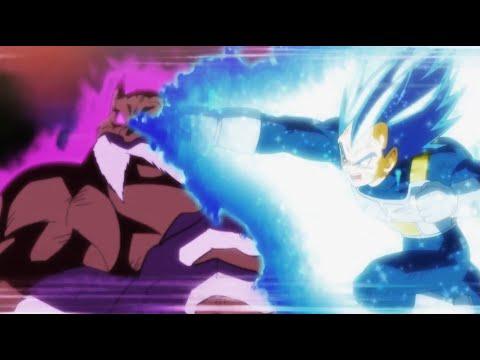 Vegeta Ssj Blue Evolution vs Toppo God of Destruction, No.17 and Frieza Vs Toppo English Dub