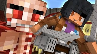 Attack On Titan  | Minecraft Hide and Seek - Bag of Cats!