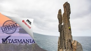 5 Pillars - Tasmania with Katha Saurwein and Jorg Verhoeven (Marmot)