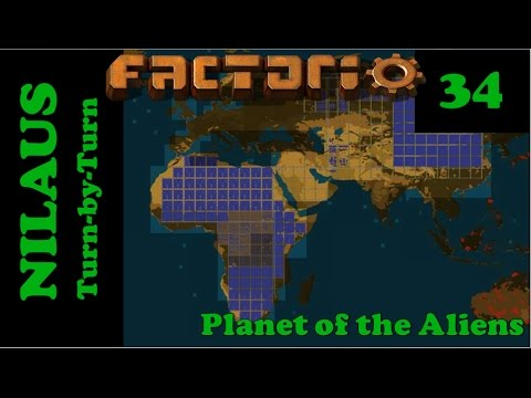 Lets Play Factorio S5E34 - Laika gates and off-world trading