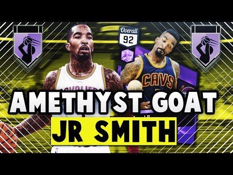 HOF LIMITLESS RANGE AMETHYST J.R. SMITH *GOAT* SCORES 40+ | NBA 2K17 MyTEAM Gameplay