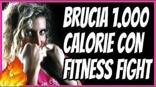 ALLENAMENTO BRUCIA GRASSI DA 1000 CALORIE | Gioca a Fitness Fight e perdi peso mentre ti diverti!