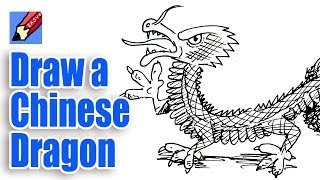 dragon chinese easy draw