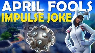 APRIL FOOLS IMPULSE GRENADE JOKE | PUMP HEAVY SHOTGUN - (Fortnite Battle Royale)