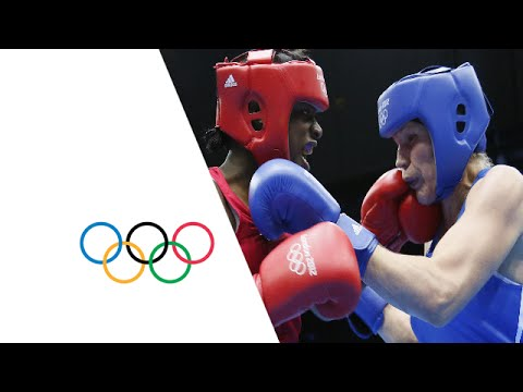 Boxing Women's Middle (75kg) Finals Bout – USA v RUS –  Full Replay | London 2012 Olympics