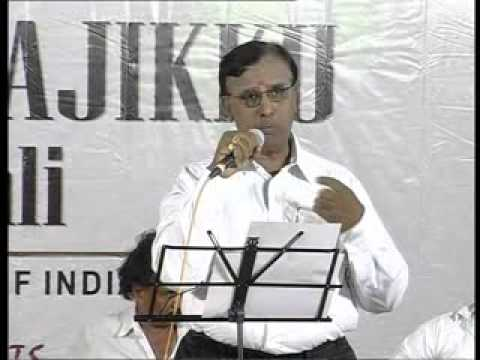 Sithamellam enakku whistled by M R Subramaniam