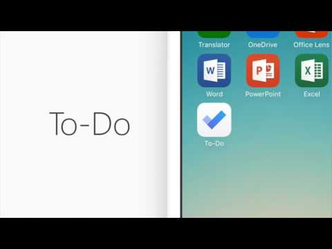Introducing Microsoft To-Do