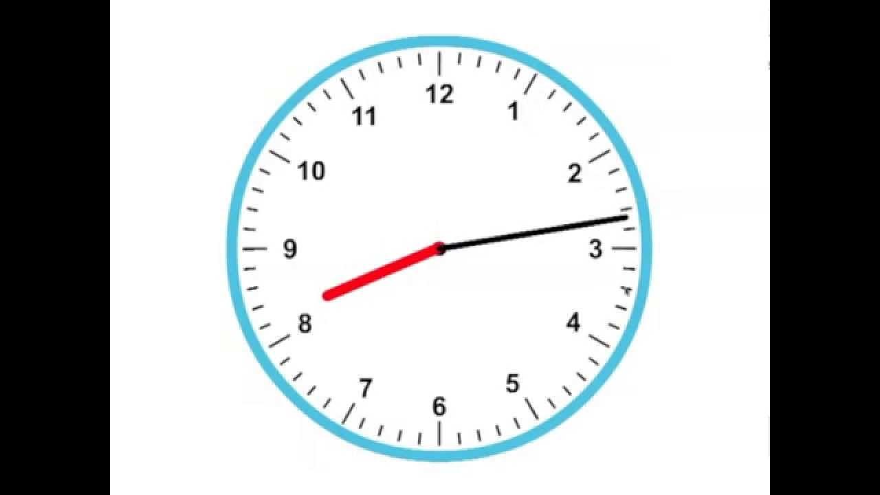 Tijd 1 -- Klokkijken, analoge klok - YouTube