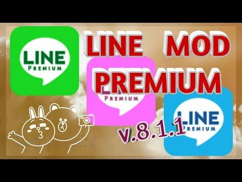 ใหม่ ล่าสุด Line Mod Premium v 8 1 1 {jp never line androie} - YouTube