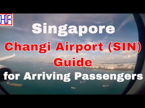 Singapore - Changi Airport To City Hotel By Train (MRT) | Travel Guide | Episode# 1