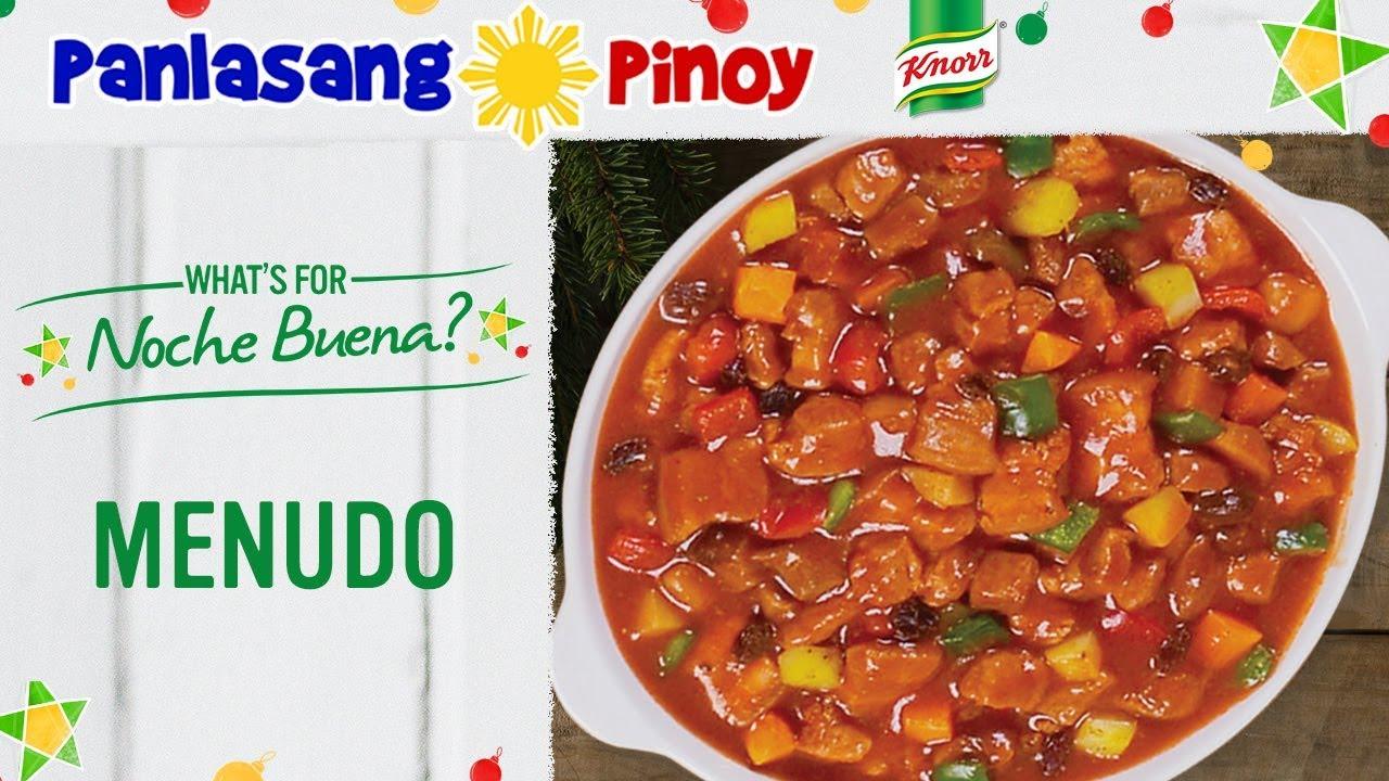 How To Cook Filipino Pork Menudo Youtube