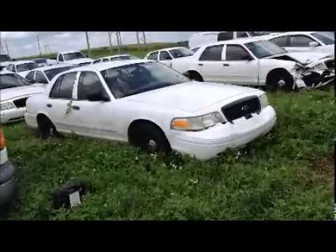 GovDeals: 24933/ 2001 Ford Crown Victoria Police Interceptor