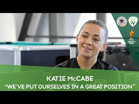 "#IRLWNT | Katie McCabe | ""We've put ourselves in a great position"""