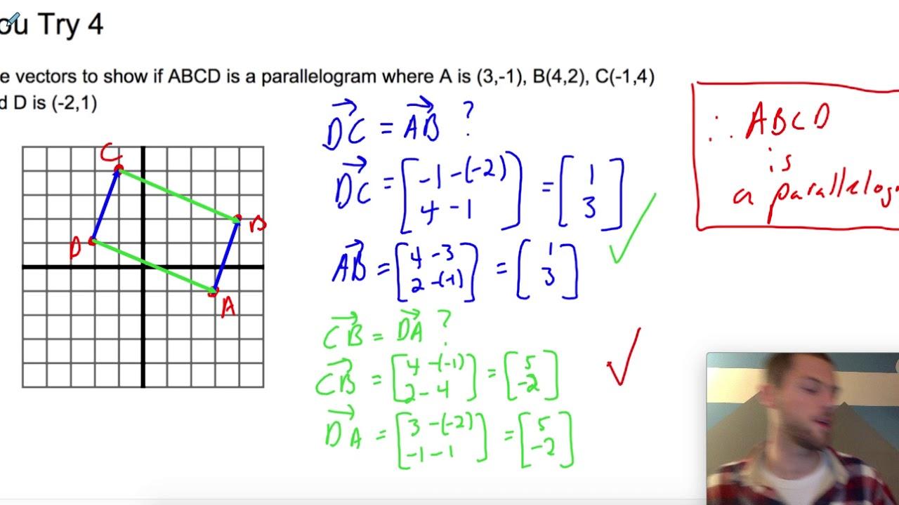 Vectors and Coordinate Geometry