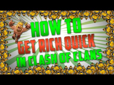 Clash of Clans - How To Get Gold Fast