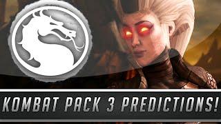 Mortal Kombat X: New Kombat Pack #3 DLC Character Predictions! (Mortal Kombat XL)