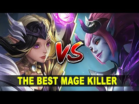 LUNOX vs SELENA (Mythic Rank gameplay) The Best Mage Killer - Mobile Legends Indonesia