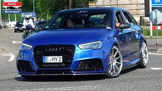 Modified Audi RS3 Compilation - Launch Control, Loud Pops & Bangs and more!