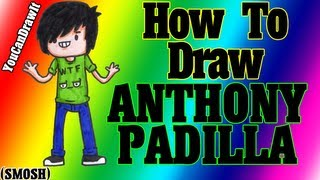 How To Draw Anthony Padilla from SMOSH ✎ YouCanDrawIt ツ 1080p HD