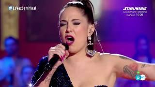Alba: Golden slumbers / Carry that weight – Semifinal - La Voz 2017