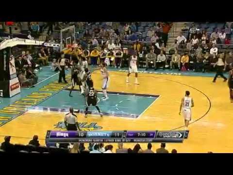 Slammin It Home   Sacramento Kings Vs New Orleans Hornets   01   21   2013   NBA 2012   13 Season