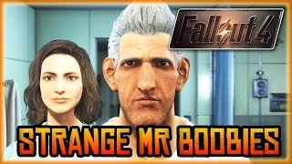 Fallout 4 - Funny Character Creation, Mr Boobies, The Game Says Your Name WOW