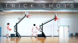 Crazy Basket-ball trickshot : Moonroof Trick Shot While Driving