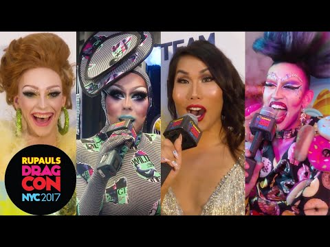 Drag Queens React: First Time You Saw RuPaul at Rupaul's DragCon NYC 2017