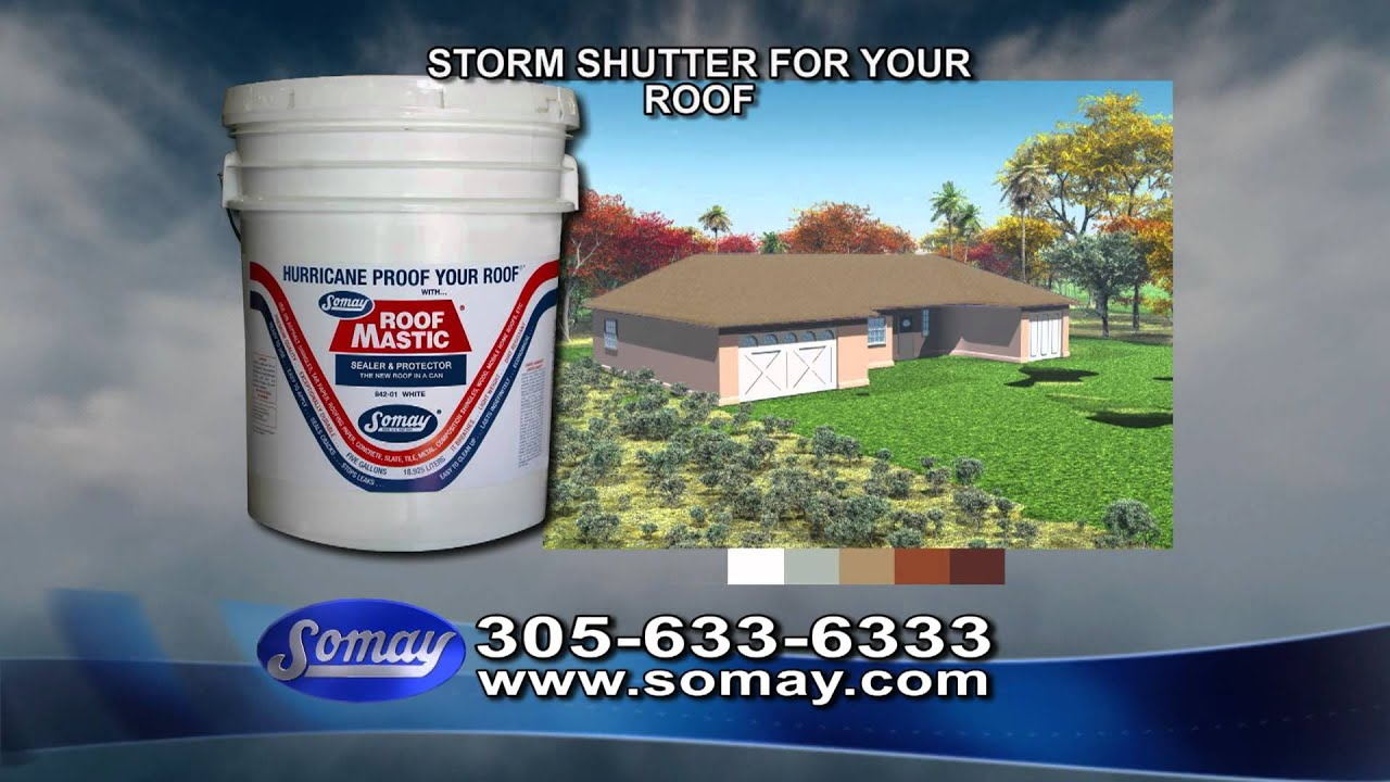 Roof Mastic Amp Somay Roof Mastic Hd