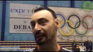 15-12-2013: Andrea Bari nel post Exprivia Molfetta - CMC Ravenna