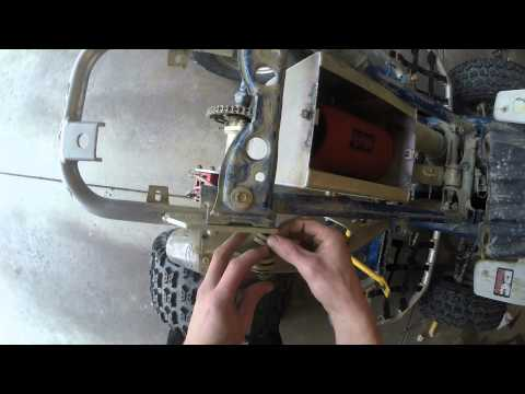 Repeat Yamaha Blaster Troubleshoot Spark: Part 4 Install