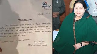 Jayalalithaa on life support, condition critical