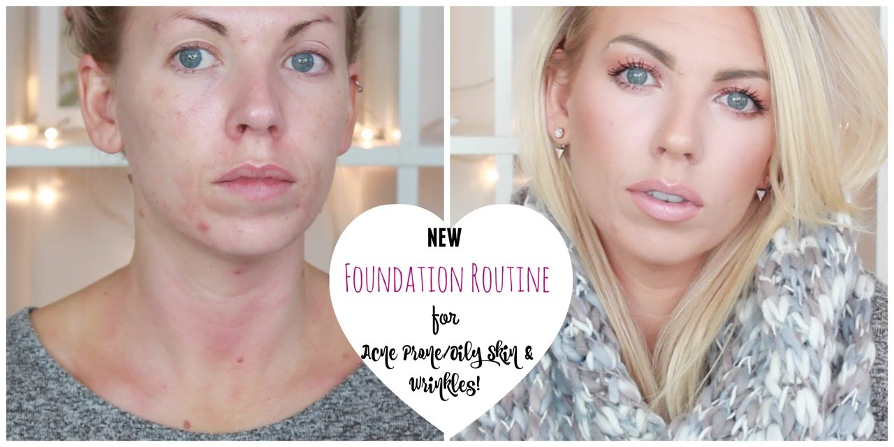 Foundation and wrinkles