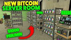 NEW BITCOIN RACK SERVER ROOM It's OP - Gmod DarkRP LIFE 46 (Building Base Tutorial)